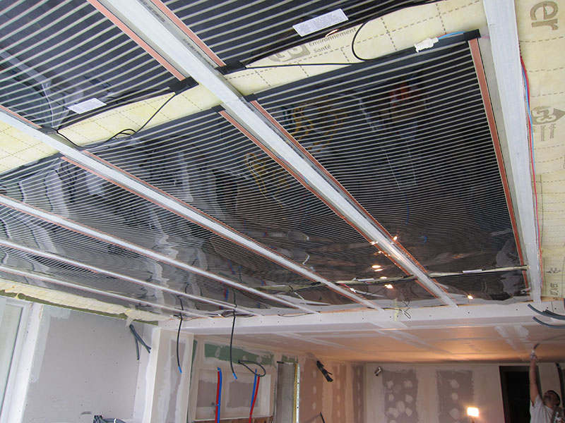 Voici des photos qui illustrent certains chantiers que nous avons r alis s - Chauffage electrique au plafond ...